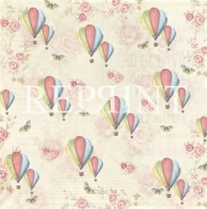 Bilde av Reprint - 12x12 - RP0222 - Spring Blossom - Up in the air