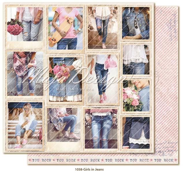 Maja Design - 1038 - Denim & Girls - Snapshots - Girls in Jeans