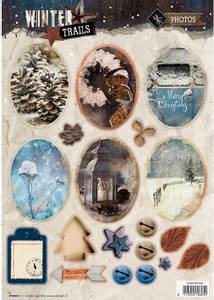 Bilde av Studiolight - Utstanset EASYWT629 - Winter Trails photos
