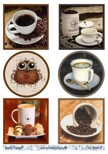 Bilde av Barto Design - Klippeark A4 - 069022 - Coffee