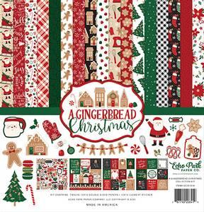 Bilde av Echo Park - A Gingerbread Christmas - 12x12 Collection Kit