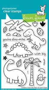 Bilde av Lawn Fawn - LF602 - Clear stamps - Critters From The Past