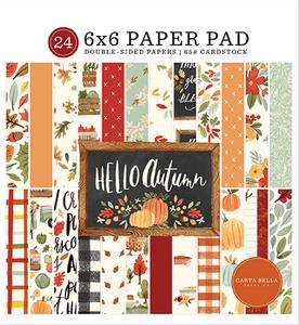 Bilde av Carta Bella - Hello Autumn - 6x6 Paper Pad