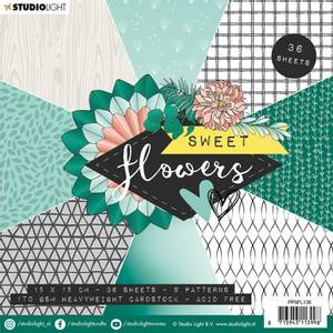 Bilde av Studiolight -  138 - PaperPad 15x15cm - PPSFL138 - Sweet flowers