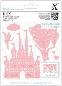 Bilde av Xcut Dies - XCU 503342 - Princess & Castle