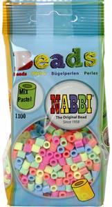 Bilde av Perler Midi - Nabbi Beads - Pastell farger - 1100stk