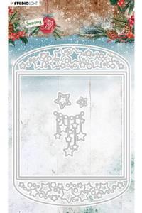 Bilde av Studiolight die - CD54 - Sending Joy -  Card shape