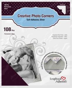 Bilde av Scrapbook Adhesives - Photo Corners Self-Adhesive - Silver