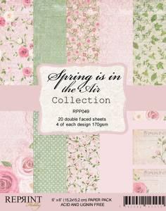 Bilde av Reprint - 6x6 - RPP049 - Spring is in the Air Collection pack