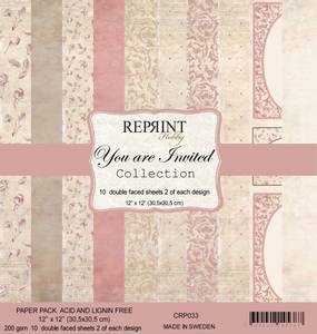 Bilde av Reprint - 12x12 - CRP033 - Your are invited Collection pack