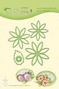 Bilde av Leane Creatief - 45.4551 - LeCrea Easy Flower dies - 001
