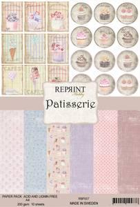 Bilde av Reprint -  A4 - RBP007 - Patisserie Collection Pack A4
