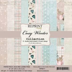 Bilde av Reprint - 8x8 - RPM011 - Cozy Winter Collection pack
