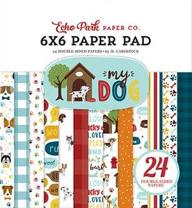 Bilde av Echo Park - My Dog - 6x6 Paper Pad