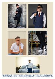 Bilde av Barto Design - Klippeark A4 - 067712 - Young Men