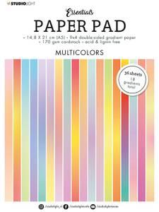Bilde av Studiolight -   20 - PaperPad A5 - PP20 Gradient Multicolors