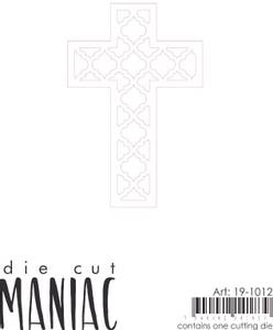 Bilde av Reprint - DieCut Maniac - 19-1012 - Die - Kors