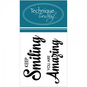 Bilde av Technique Tuesday - clear stamps 2