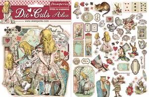 Bilde av Stamperia - Chipboard Die Cuts - 07 - Alice