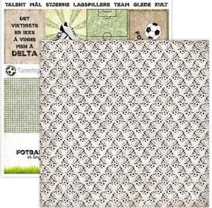 Bilde av Papirdesign PD15040 - Hell Og Lykke - Fotballsko