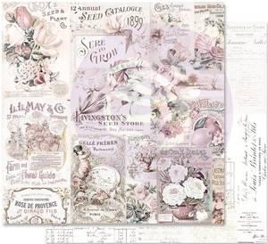 Bilde av Prima - 848934 - 12x12 - Lavender Frost - My Lovely Garden