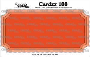 Bilde av Crealies - Dies - Cardzz 188 - Slimline H - Ticket