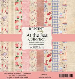 Bilde av Reprint - 12x12 - CRP016 - At the Sea Collection Pack