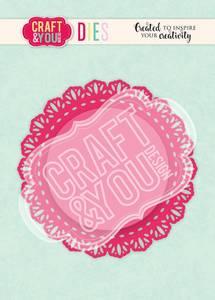 Bilde av Craft & You - Dies - CW106 - Doily 4