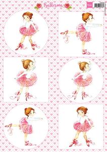 Bilde av Marianne Design - Klippeark VK9558 - Ballerina