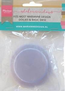Bilde av Marianne Design - LR0032 - Shaker Windows - Small Circle - 5cm