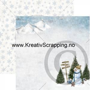 Bilde av Papirdesign 2100714 - Det kimer nå til julefest - Vinterland