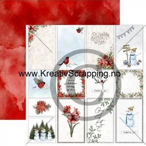 Bilde av Papirdesign 2100785 - Det kimer nå til julefest - Juleønsker