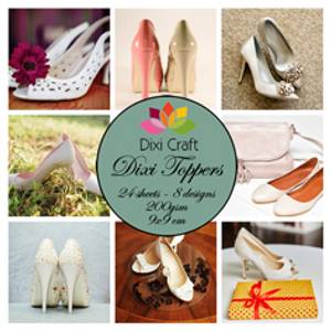 Bilde av Dixi Craft - Dixi toppers - ET0259 -  Women shoes