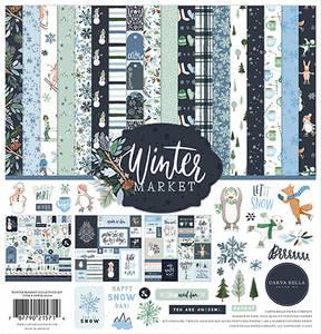 Bilde av Carta Bella - Winter Market - 12x12 Collection Kit