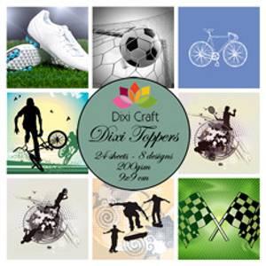 Bilde av Dixi Craft - Dixi toppers - ET0263 - Sports