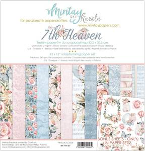 Bilde av Mintay - 7TH - 12x12 Paper Set - 7th Heaven