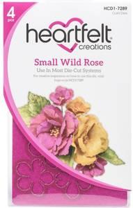 Bilde av Heartfelt Creations - Wild Rose Small - Cut & Emboss Dies