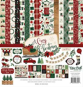 Bilde av Echo Park - A Cozy Christmas - 12x12 Collection Kit