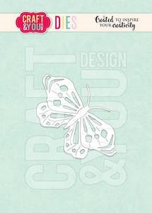 Bilde av Craft & You - Dies - CW127 - Butterfly 2