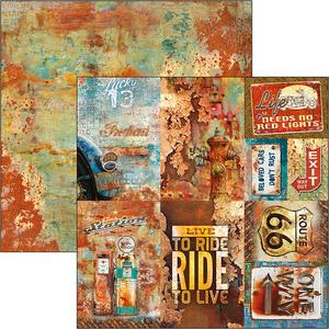 Bilde av Ciao Bella - 12x12 - CBSS086 - Collateral Rust - Rusted Cards