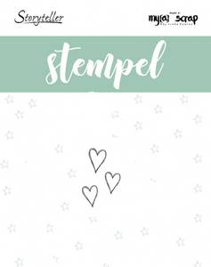 Bilde av Storyteller - Stempel - 010878 - Tre hjerter