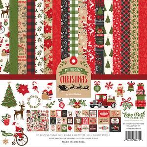 Bilde av Echo Park - My Favorite Christmas - 12x12 Collection Kit