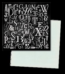 Bilde av My Mind's Eye - 12x12 - CS1002 - Chalk Studio - Lettered