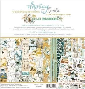 Bilde av Mintay - OLD - 12x12 Paper Set - Old Manor
