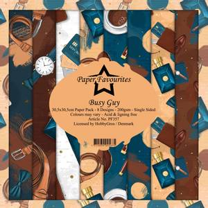 Bilde av Paper Favourites - 12x12 Paper Pack - PF357 - Busy Guy