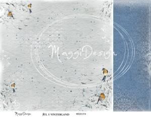Bilde av Maggi Design - MD20-014 - Jul i Vinterland