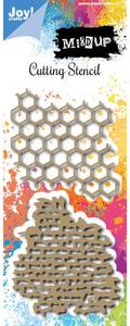 Bilde av Joy Crafts - 6002-0979 - Die - Mixed Up - Honeycomb - Wall