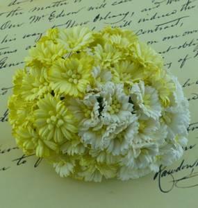 Bilde av Flowers - Cosmo Daisy Flowers - SAA-250 - Mixed White/Cream - 50