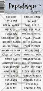 Bilde av Papirdesign - Klistremerker - 2000478 - Vakkert