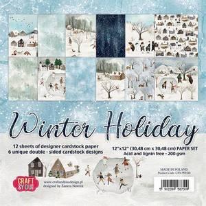 Bilde av Craft & You - WH30 - Winter Holiday - 12x12 Paper Pad